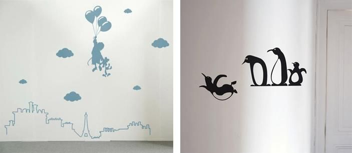 stickers muraux pour chambre d enfants see best ideas. Black Bedroom Furniture Sets. Home Design Ideas