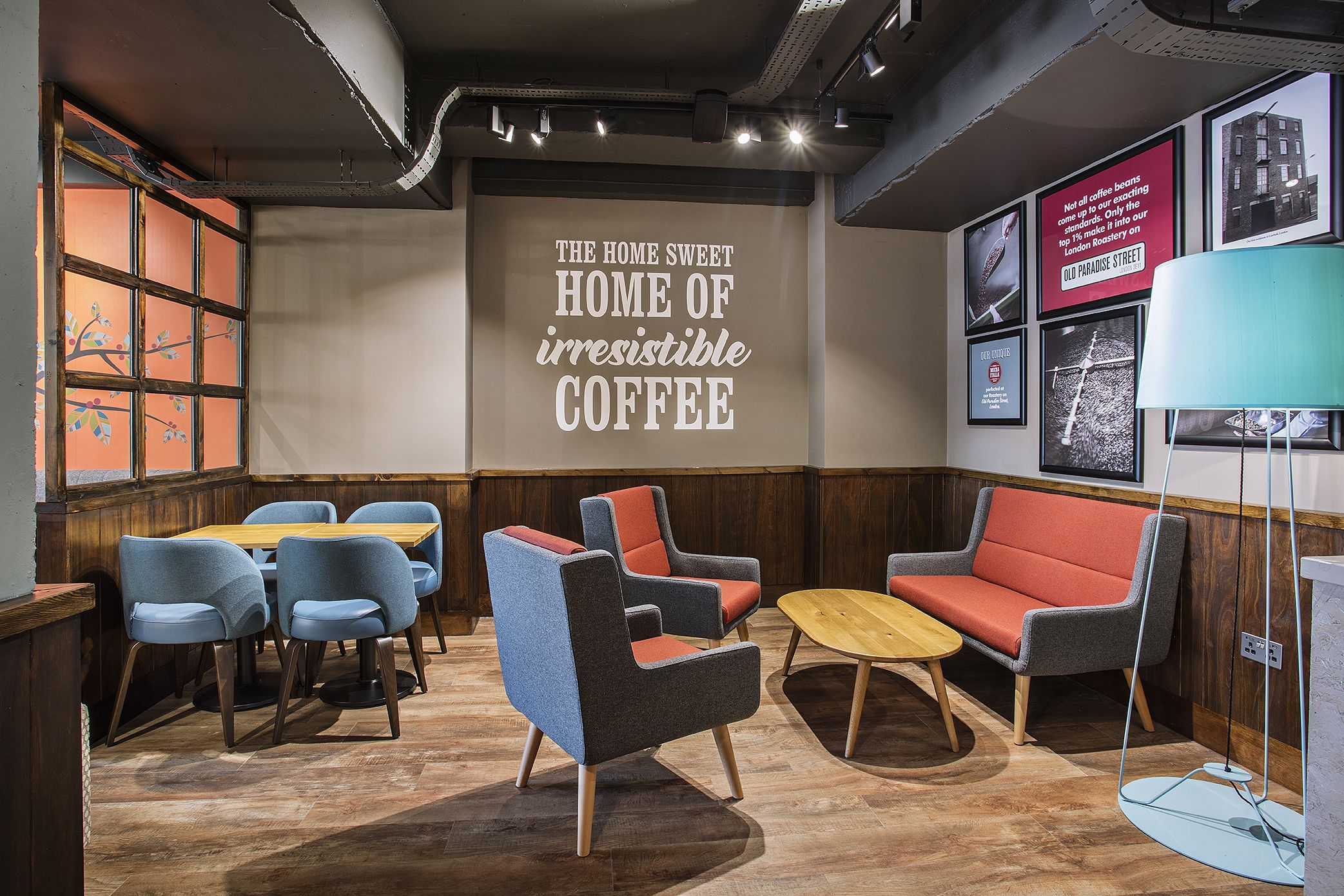 Costa Coffee Refurb In Sheffield Cosy Coffee Corner