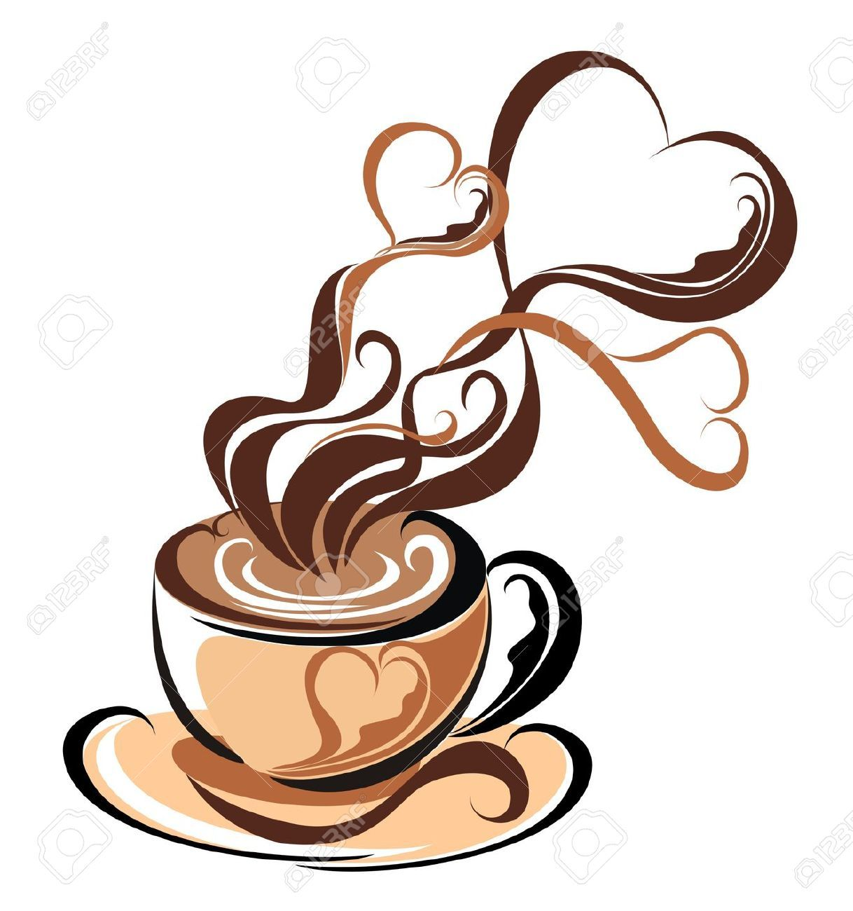 coffee cup clip art Google Search Coffee heart, Coffee