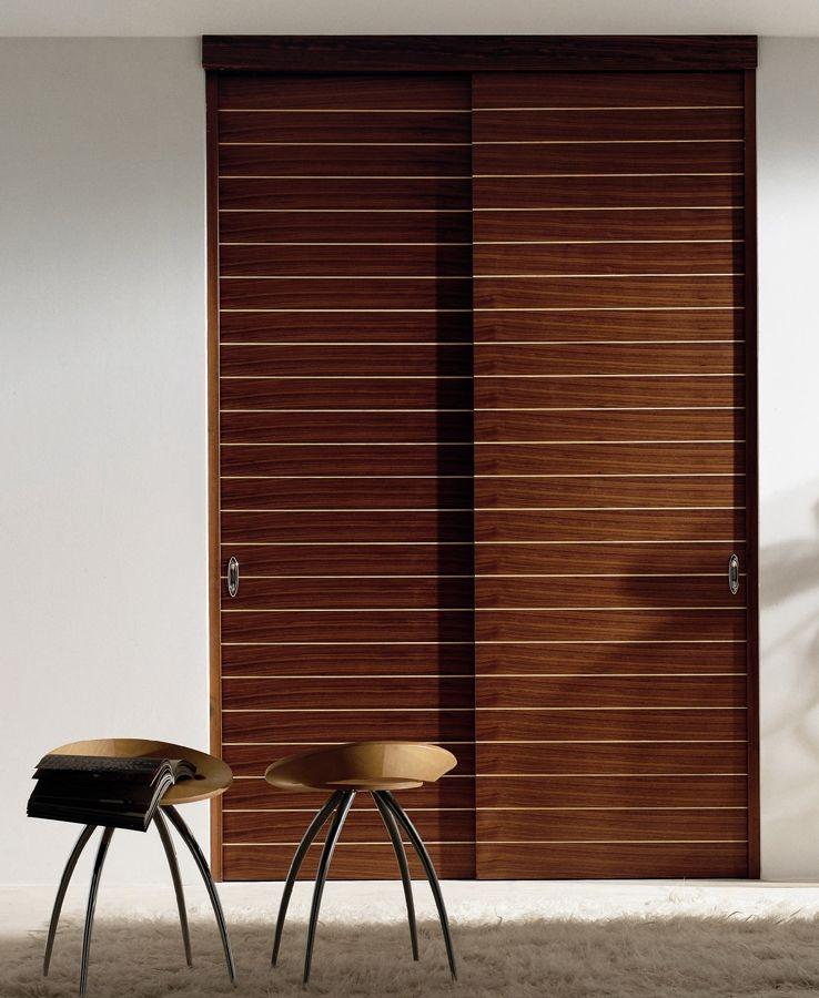 Basie interior door made of veneered fir blockboard with for 1 panel inlaid oak veneer door
