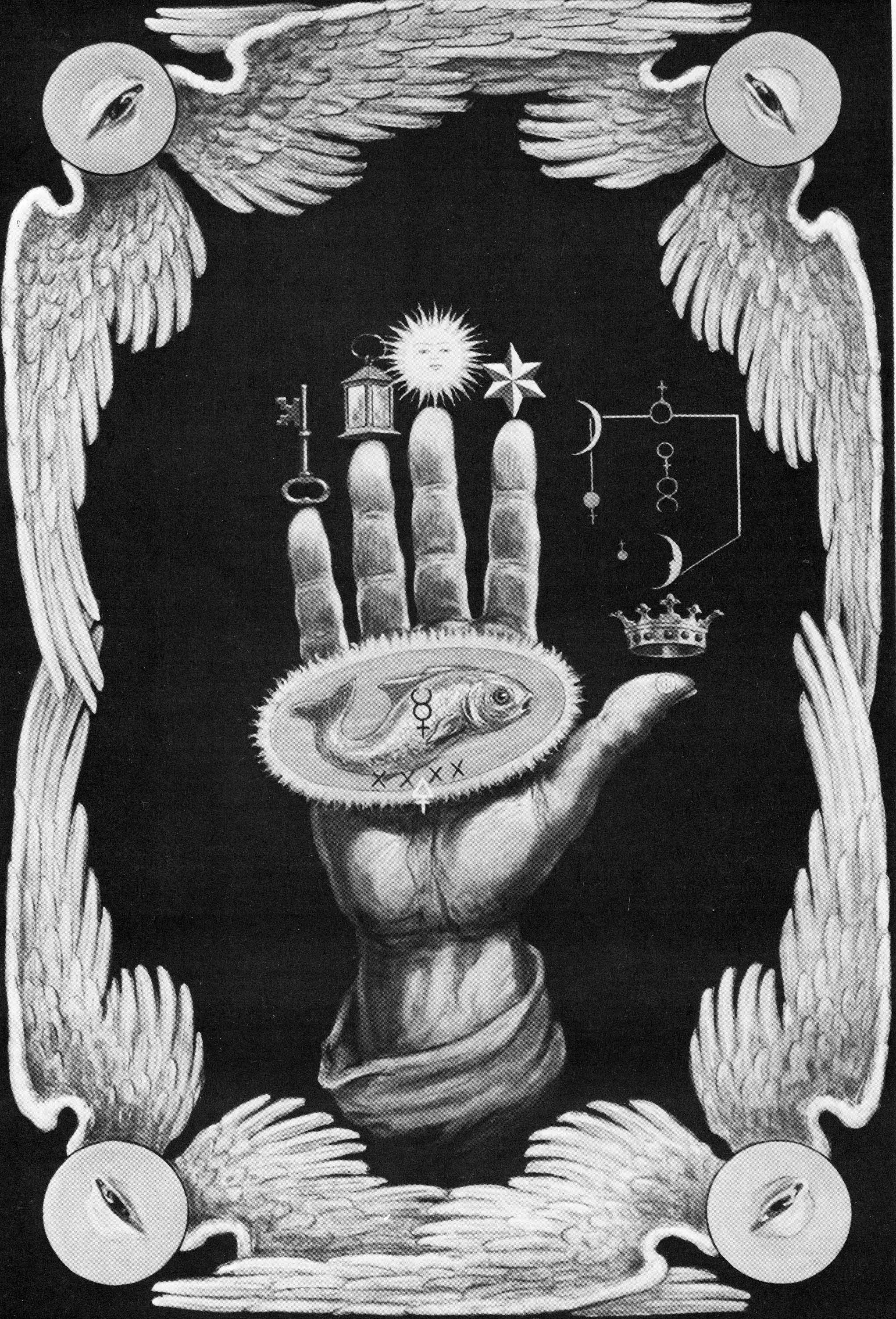 The Hand of the Mysteries from The Secret Teachings of All Ages by Manly P Hall Gizemlerin Eli Her yaştaki Gizli –ÄŸretiler den Manly P