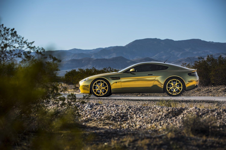 gold Aston Martin Aston martin vantage, Aston martin