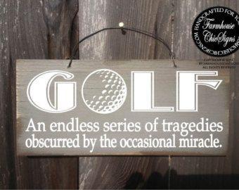 Golf, Gift For Golfer, Golf Gift, Golf Wall Decor, Golf Art,
