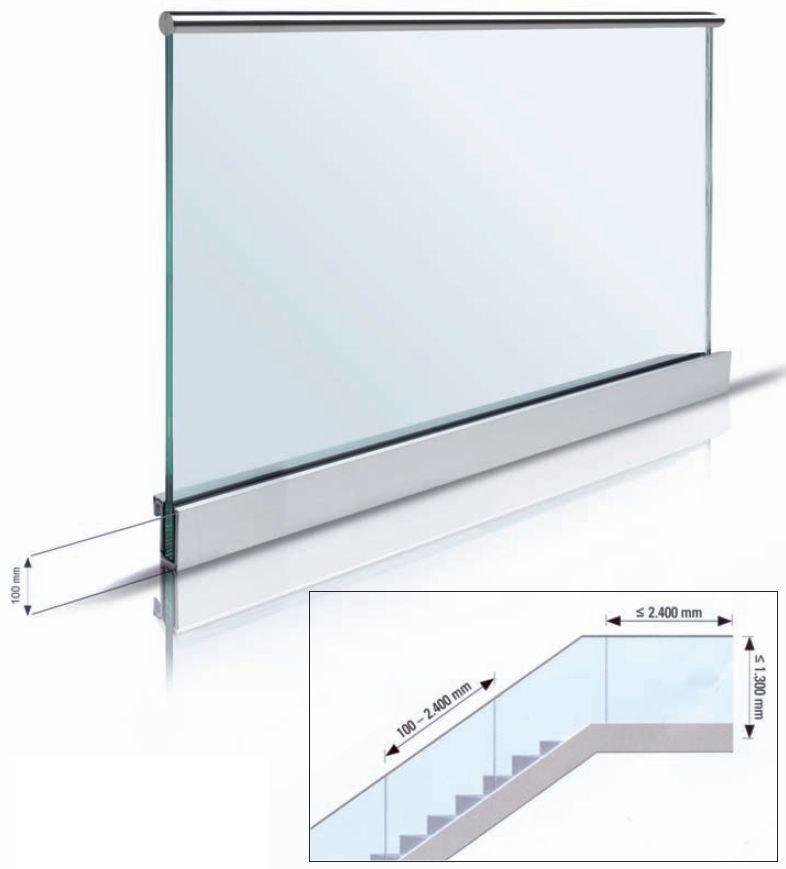 Barandillas de vidrio que se montan con facilidad - Barandillas de cristal ...