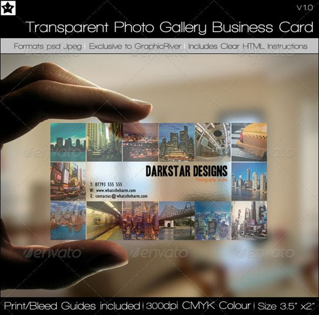 40 creative transparent business cards design inspiration 40 creative transparent business cards reheart Image collections
