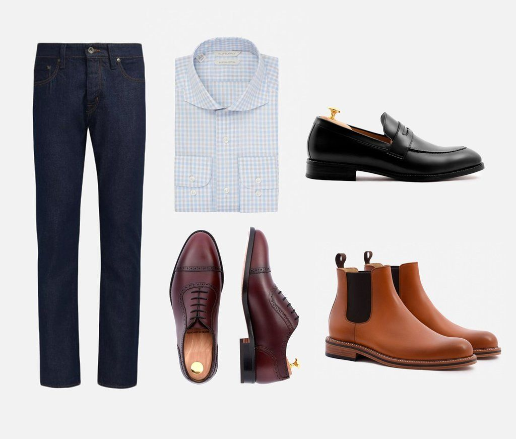 Find Alternatives To Your Black Shoes Brown Dress Shoes 6 Ways Brown Shoes Outfit Shoes With Jeans Alternative Shoes [ 871 x 1024 Pixel ]