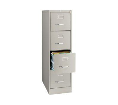 Officemax Four Drawer Commercial Vertical File 26 1 2 Quot D