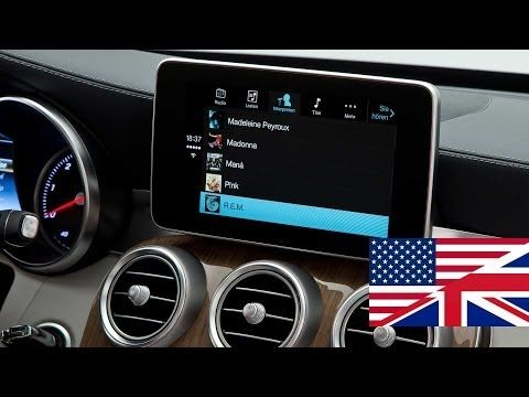 Apple CarPlay demonstration in the 2014 Mercedes Benz C