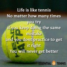 Pin von Kerstin Greiner auf Tennis Quotes | Tenis, Imagenes de