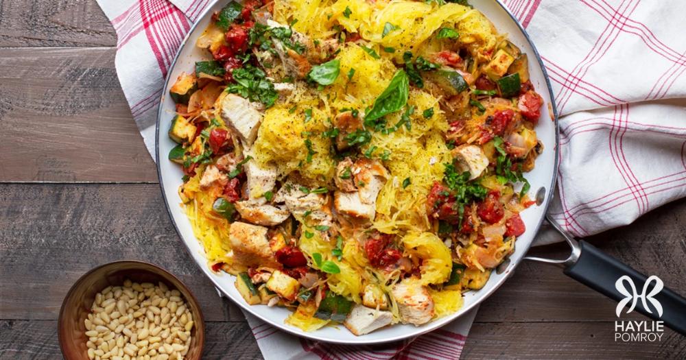 Italian Chicken Skillet Fmd recipes Biryani recipe Healthy vegetable recipes