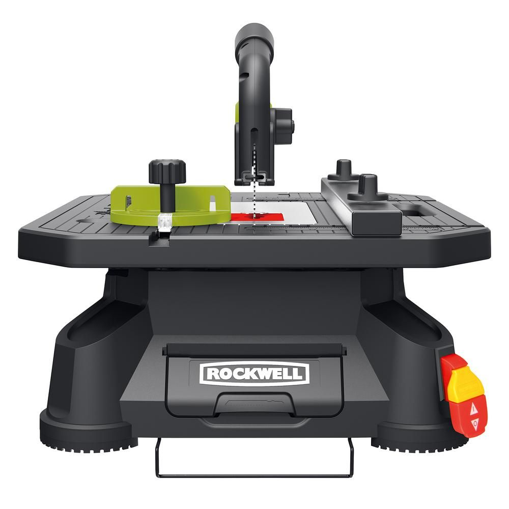 Rockwell Blade Runner X2 Portable Tabletop Saw Rk7323 The Home Depot Tabletop Saw Portable Table Saw Best Scroll Saw
