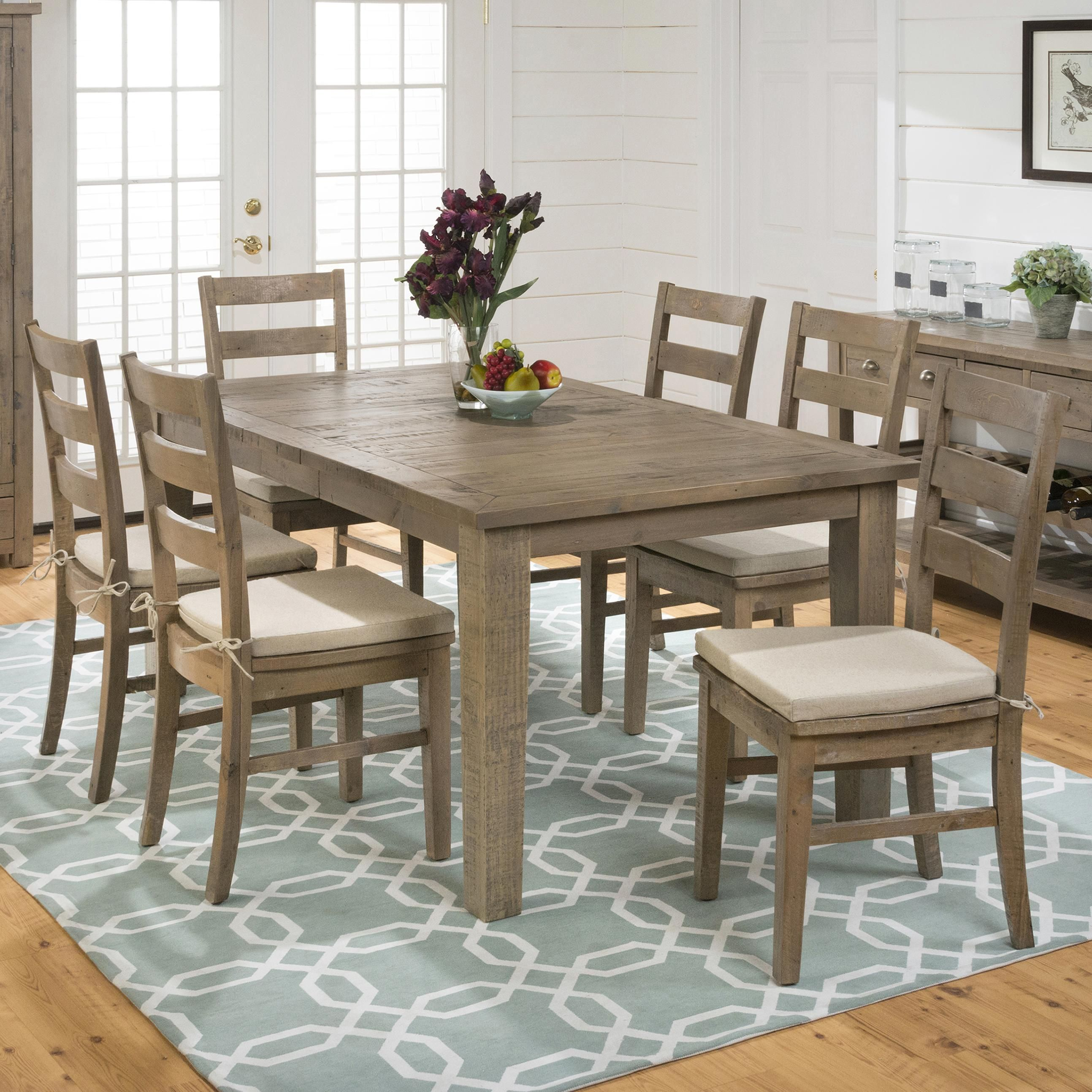 Slater Mill Transitional Espresso Dining Room Set Counter Height