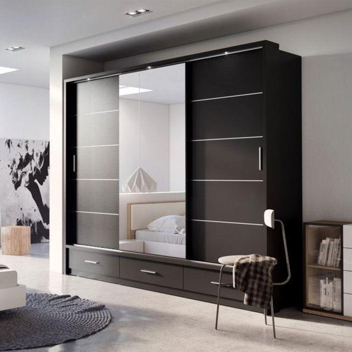 40 tolle kleiderschrank ideen und tipps f r ihre eigene inspiration einrichtungsideen. Black Bedroom Furniture Sets. Home Design Ideas