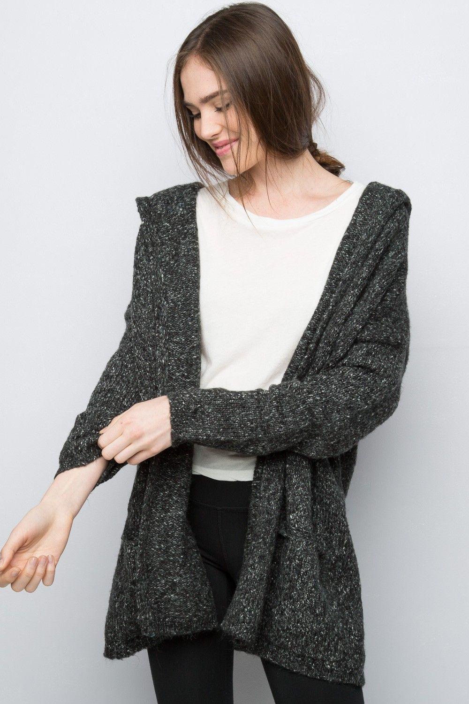 Brandy ♥ Melville   Ayara Hoodie Cardigan - Sweaters - Clothing ...