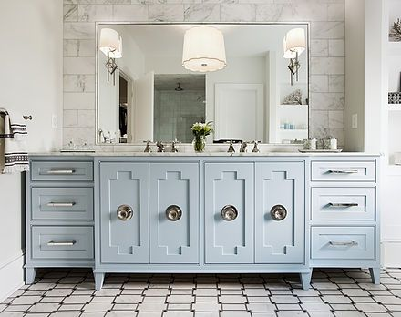 Best Bathroom Vanity Color Is Benjamin Moore Silver Mist Roost 400 x 300