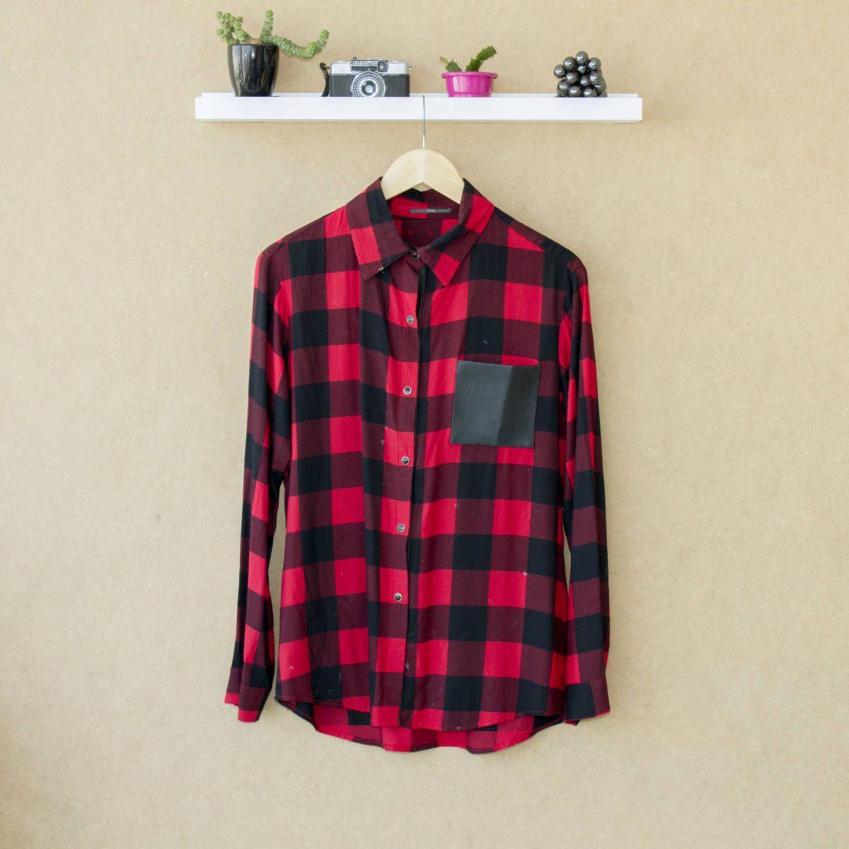 camisa xadrez - camisas canal