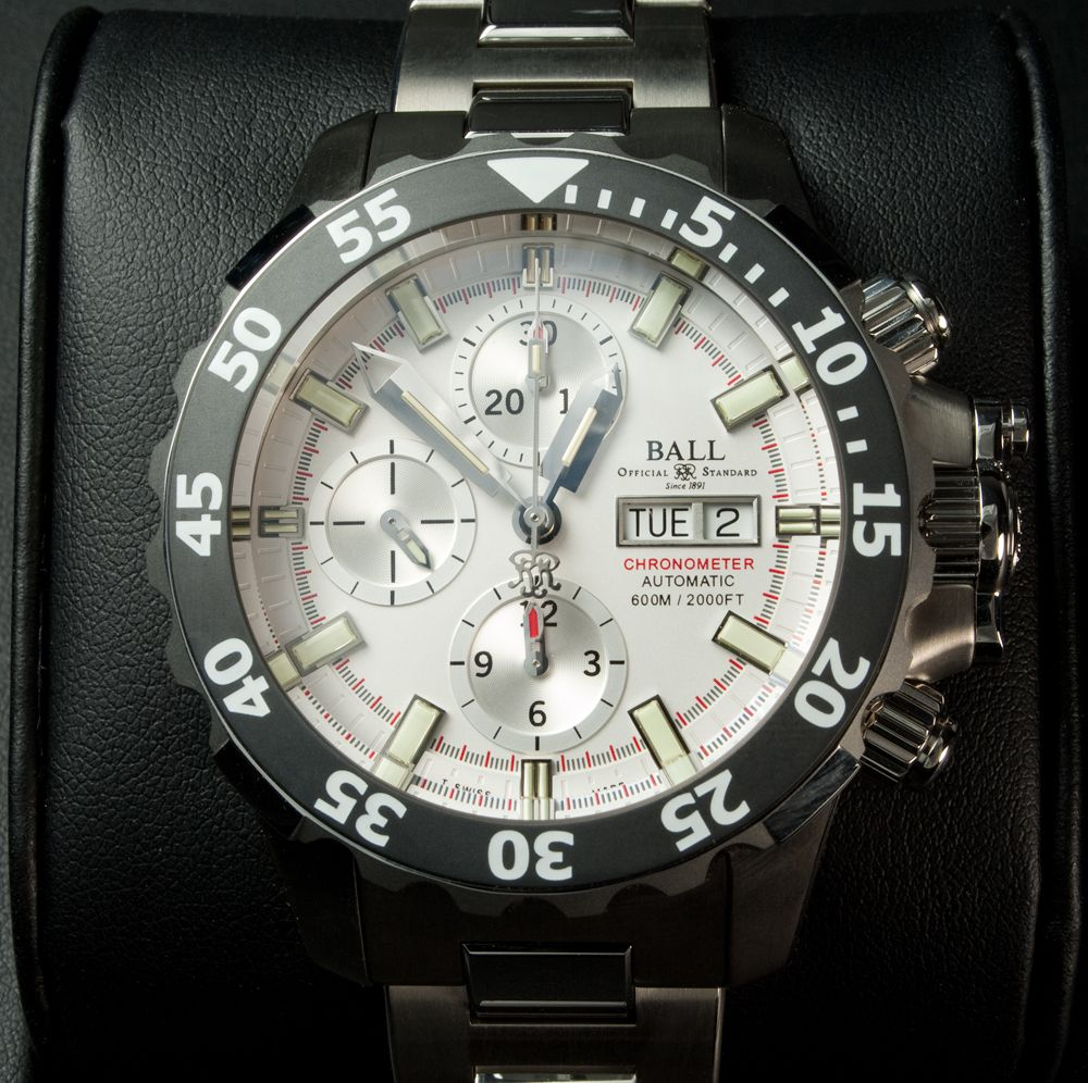 "This is the ""Engineer Hydrocarbon NEDU"" watch from Ball Watch Company (Reference"