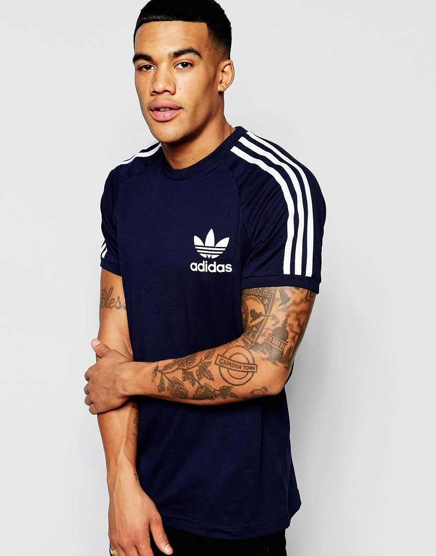 adidas originals t shirt california