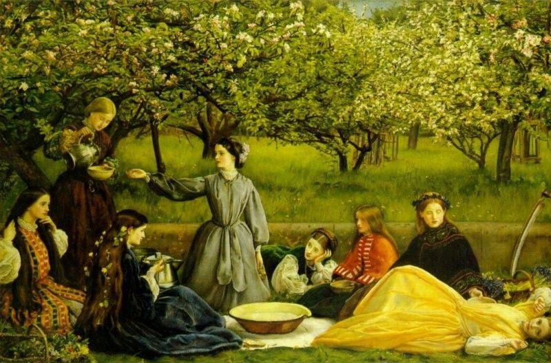 Spring (Apple Blossoms) - Millais