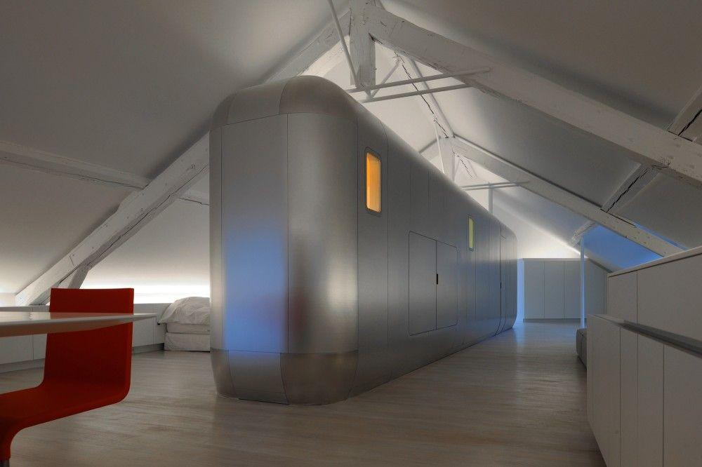 Gallery of Kempart Loft / Dethier Architectures - 29 lofts Pinterest - hi tech loft wohnung loft dethier architecture