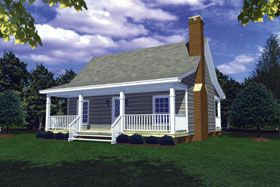 Cottage Country Southern House Plan 59039 Southern house plans