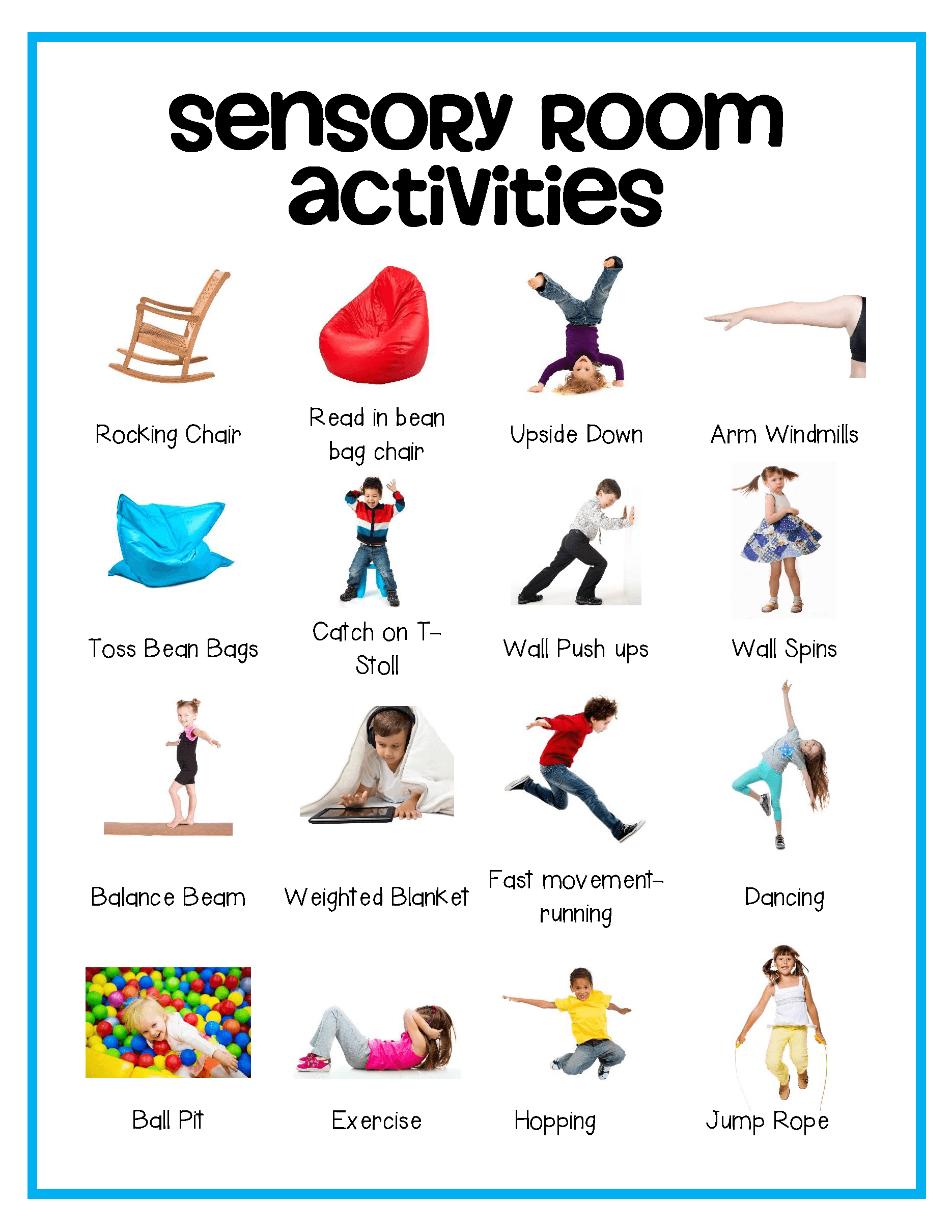 Self Regulation: Sensory Strategies Starter Kit (Printable PDF ...