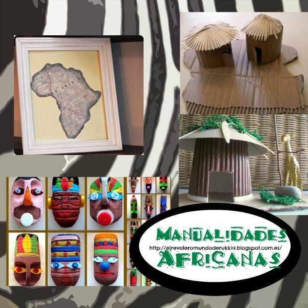 Manualidadesafricanasniños Africa for Loretta Pinterest
