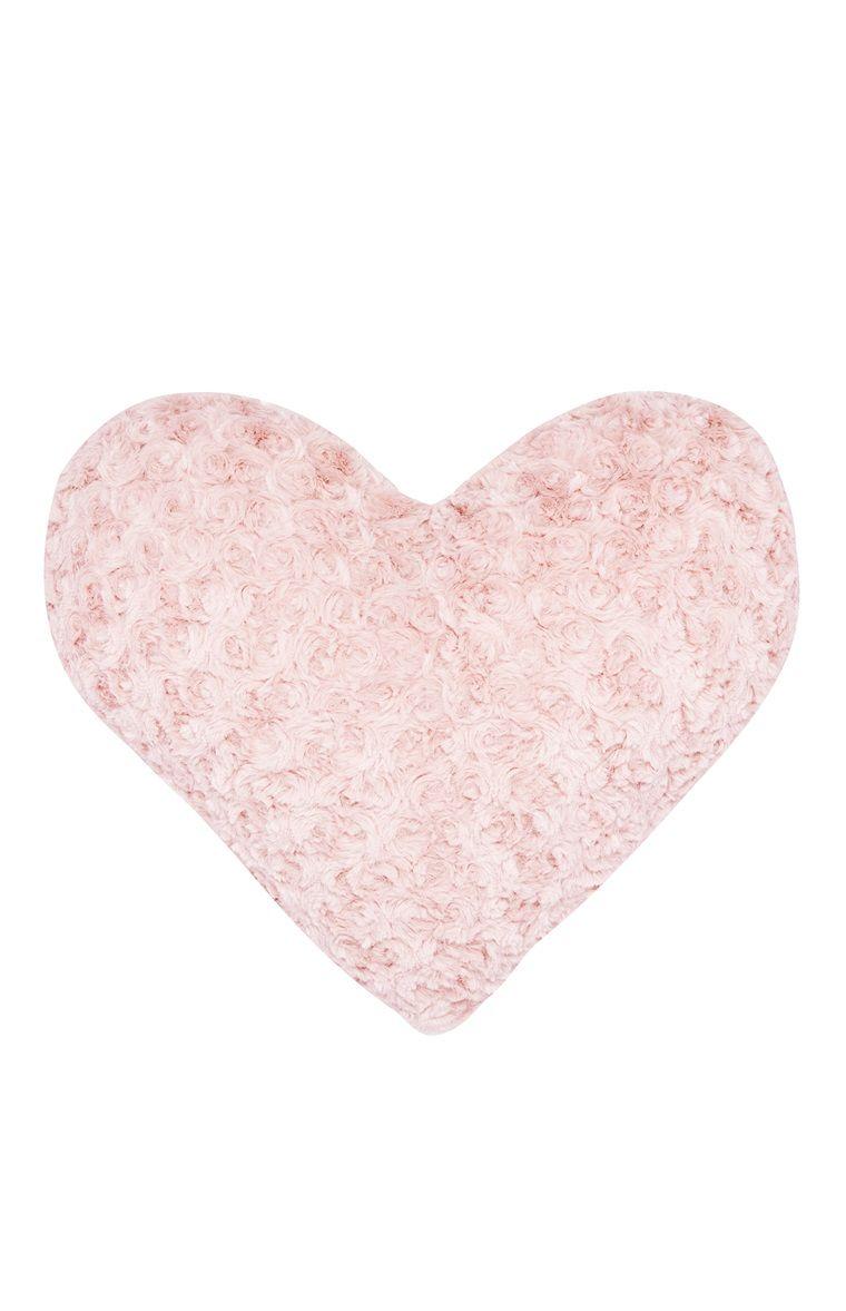 Coussin en cœur rose   Corazones rosados, Formas de corazón