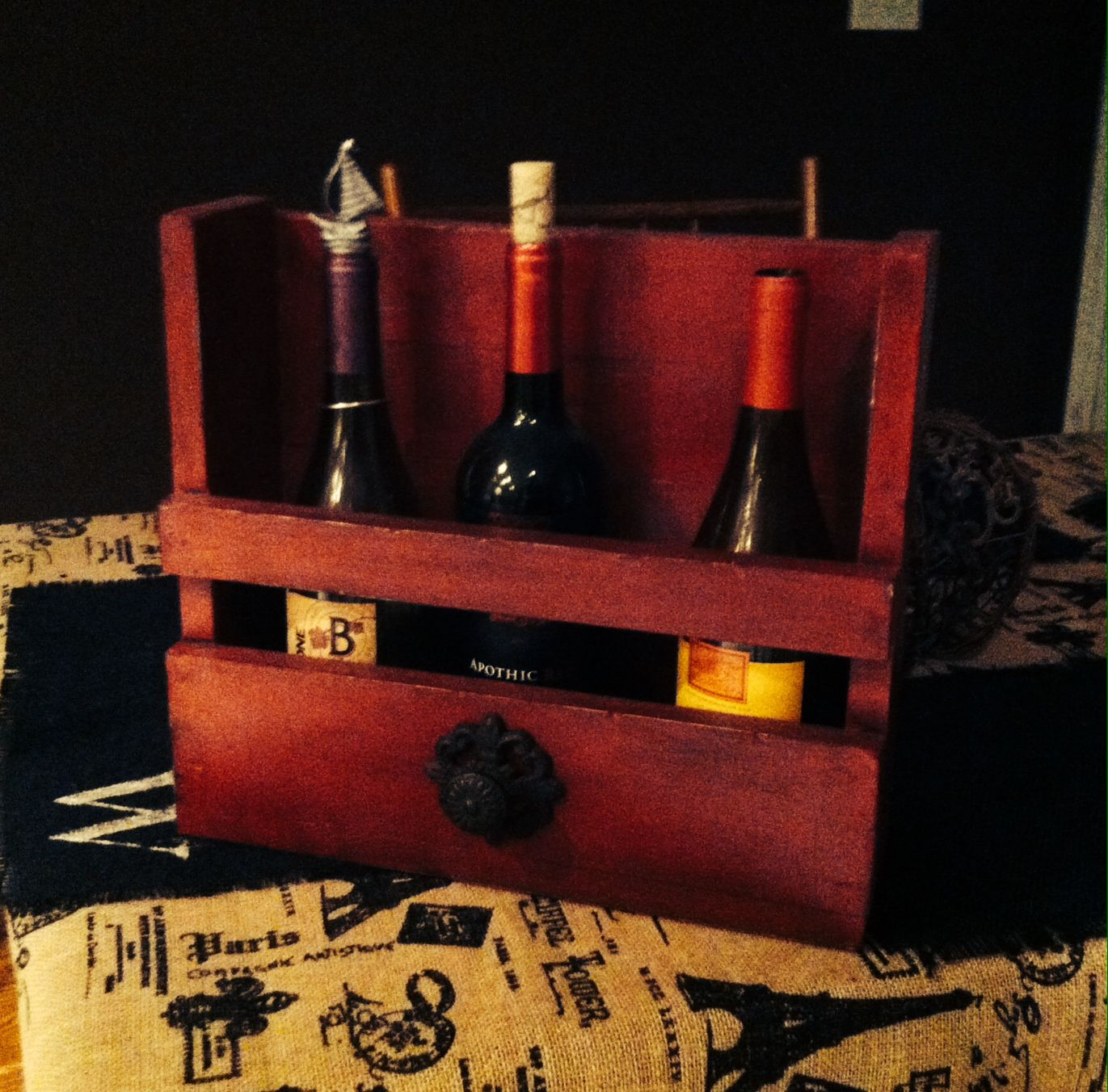 Homemade Wine Rack With Images Homemade Wine Rack Wine Rack Homemade Wine