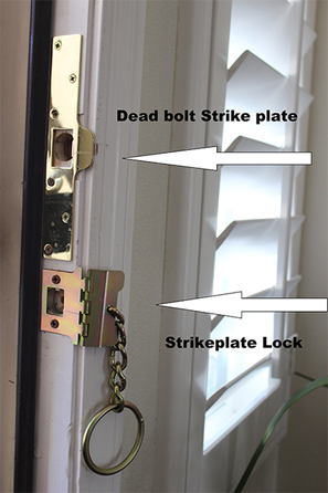 check out the video strike plate locks under 20 dollars for 1 i have