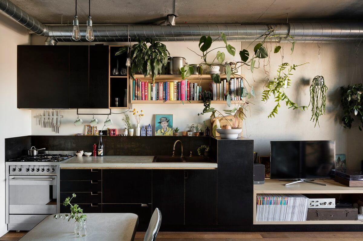 Sustainable Decorating Kitchen interior, Interior