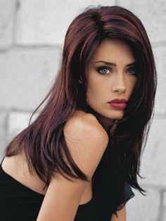 Best Brunette Hair Blue Eyes Fall 2014 Google Search Wannttt Thisss Dark Hair With Highlights Hair Highlights Brunette Hair Color