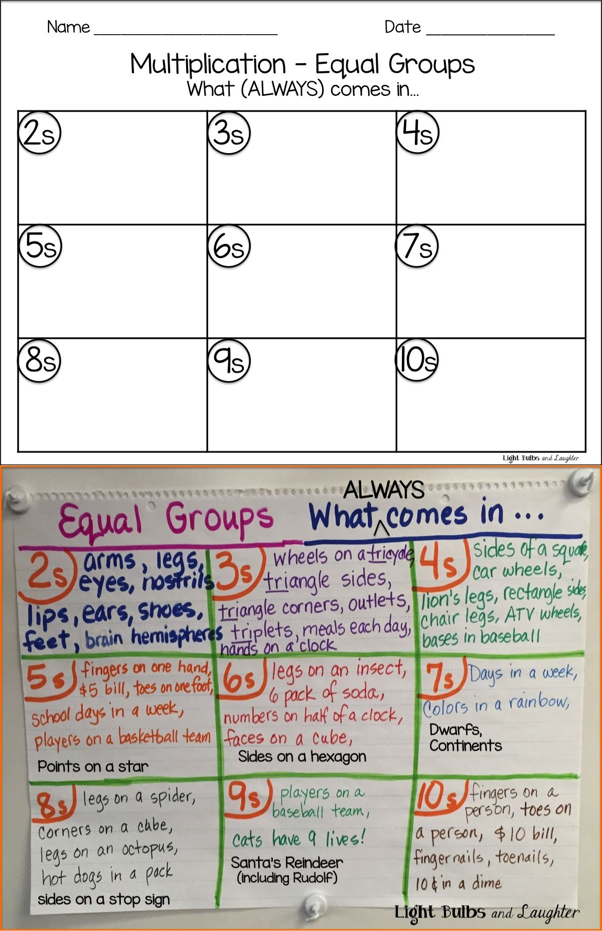 Great Intro To Multiplication