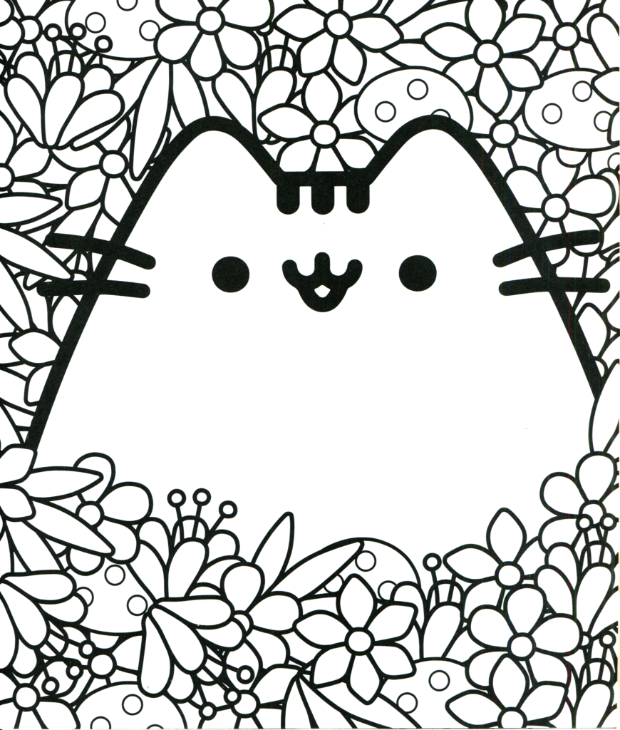 Coloring Rocks Pusheen Coloring Pages Cat Coloring Book Cat Coloring Page