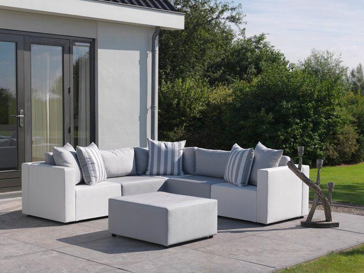Maxx #Gartenlounge, #Gartensofa aus #Silvertex Gartenmöbel aus - lounge gartenmobel gunstig