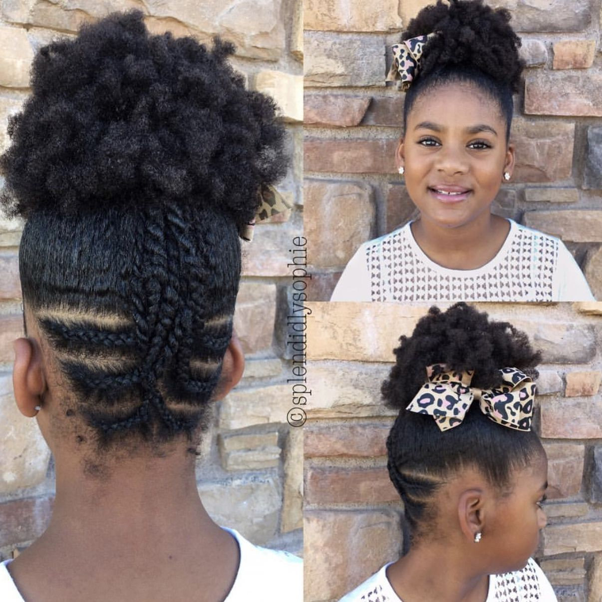 Christmas Natural Hairstyles For Kids Holiday Hair Shop Www Naturalhairshop Com For Hair Acce Lil Girl Hairstyles Wedding Hairstyles For Girls Girl Hairstyles