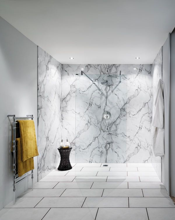 Nuance 100 Waterproof Laminate Shower Wall Panelling For Bathrooms Bathroom Shower Walls Shower Wall Panels Laminate Wall Panels