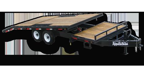 Deckover Tilt Equipment Trailer For Sale By Appalachian Trailers Equipment Trailers Equipment Trailers For Sale Trailer