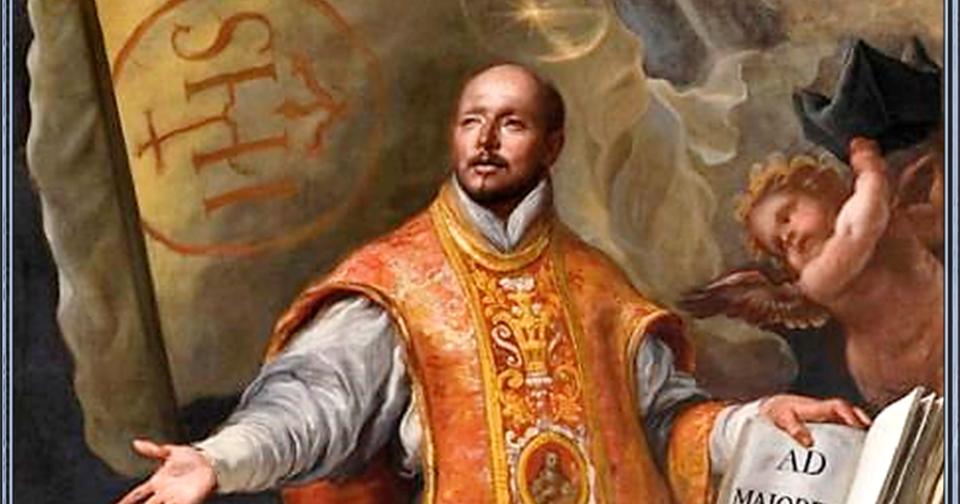 Oh Bienaventurado San Ignacio De Loyola Hoy Me Presento Ante Ti Para Pedirte Ayuda Por Todas Las Buenas Ob Aprobar Examen San Ignacio De Loyola Oraciones