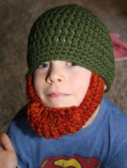 Irish Red Beard Crocheted Hat - *Inspiration* | Hooked | Pinterest