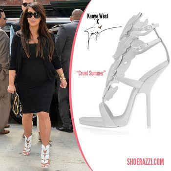 kim kardashian in giuseppe zanotti x kanye west women s fashion rh pinterest com