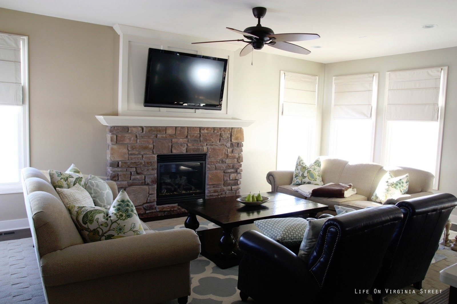 incredible behr paint living room | Life On Virginia Street: Painting the Living Room: Behr ...