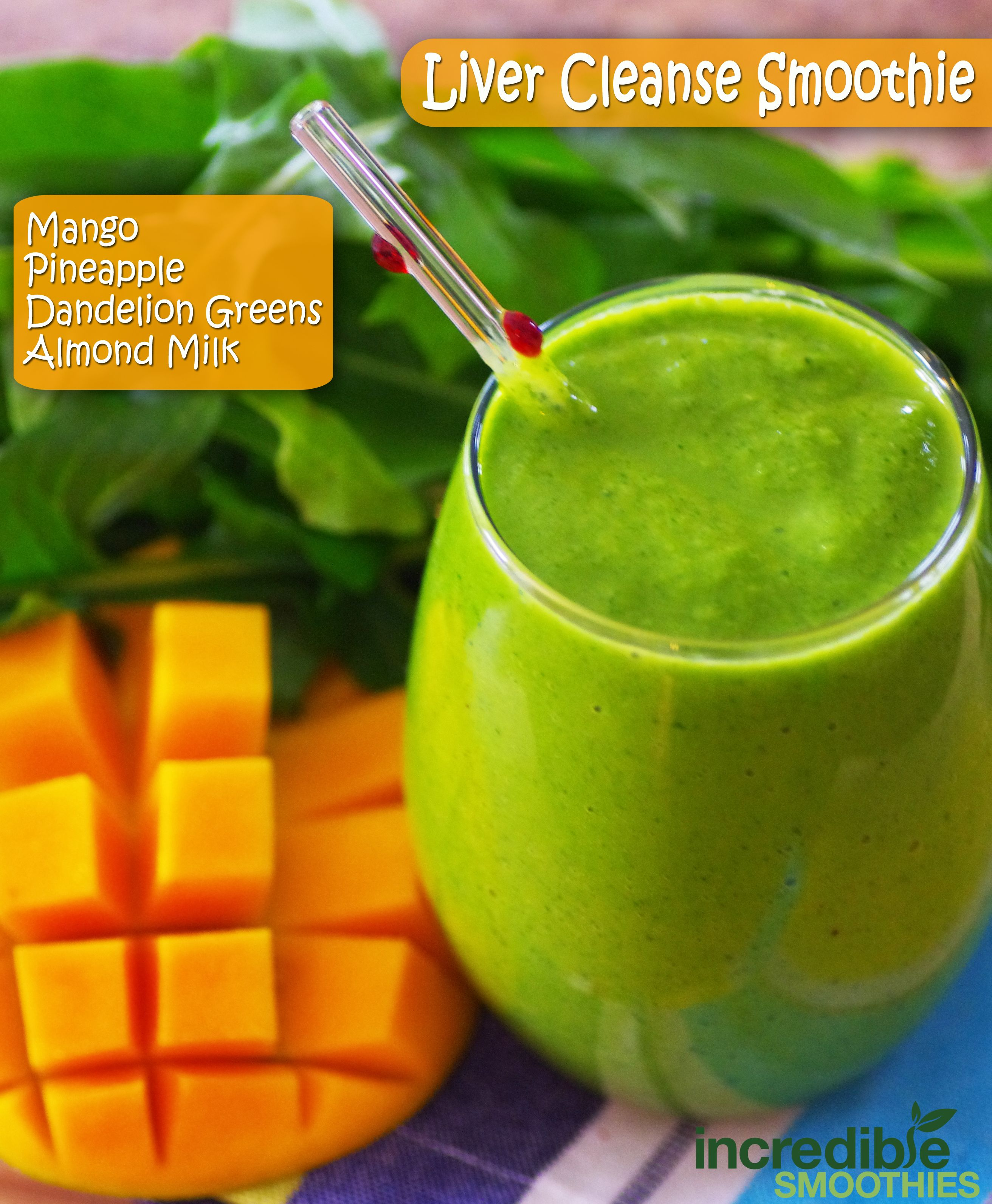 Liver Cleanse Green Smoothie ->http://on.fb.me