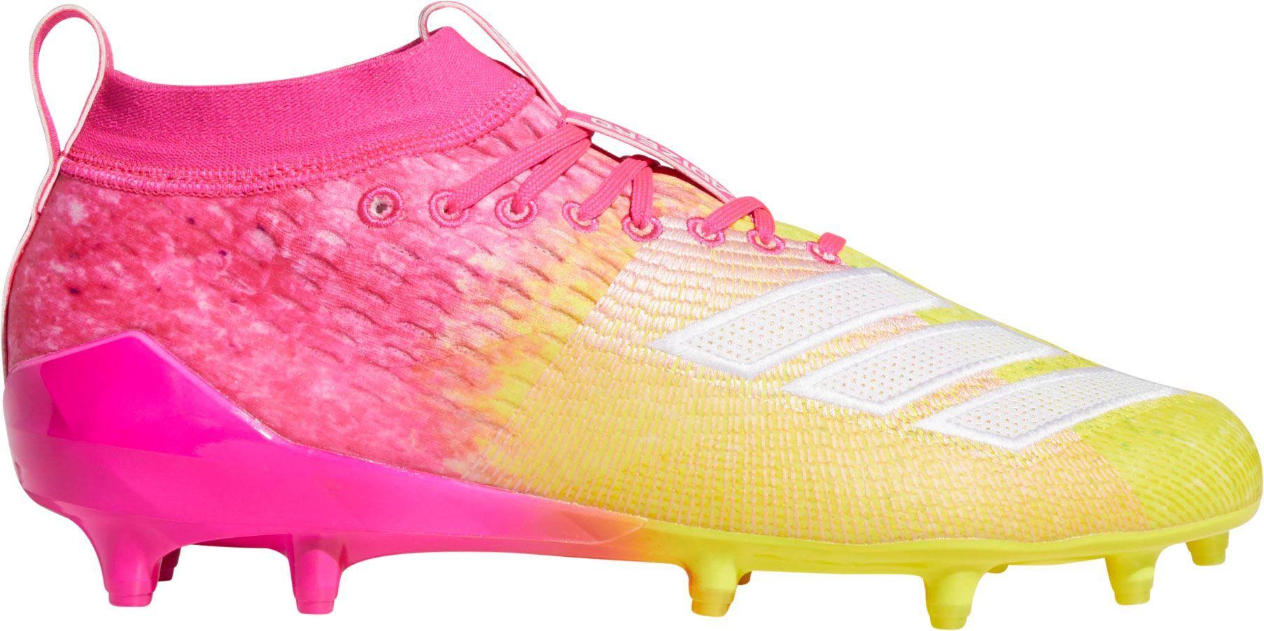 623e719861b5 adidas Men's adizero 8.0 Snow Cone Football Cleats, Size: 16, Pink
