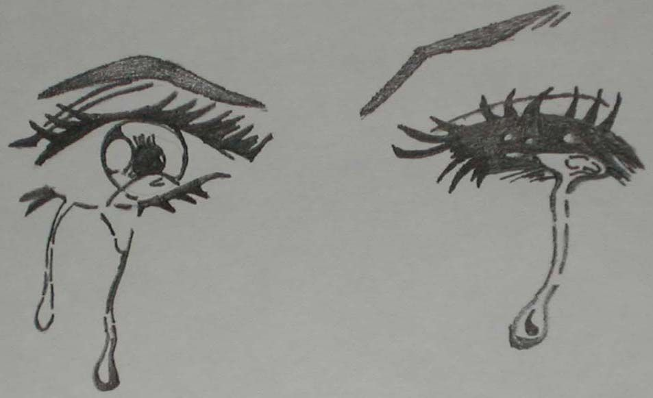 How To Draw Girl Anime Eyes Crying Images Amp Pictures Becuo