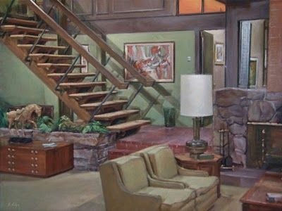 Charmant I Really Love The Interior Of The Brady Bunch House! The Stairs, The Cool  Entry Way! Just Loved It.
