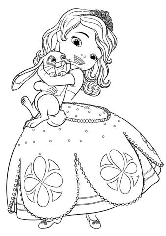 sofia the first coloring pages family | Sofia the First Coloring Pages | Family coloring pages ...