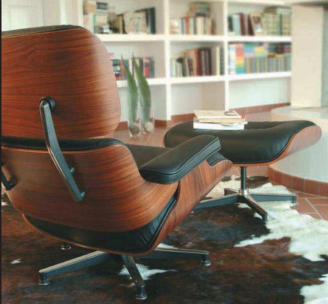 Eames Lounge Chair   Italian Leather By Manhattanhomedesign, Via Flickr