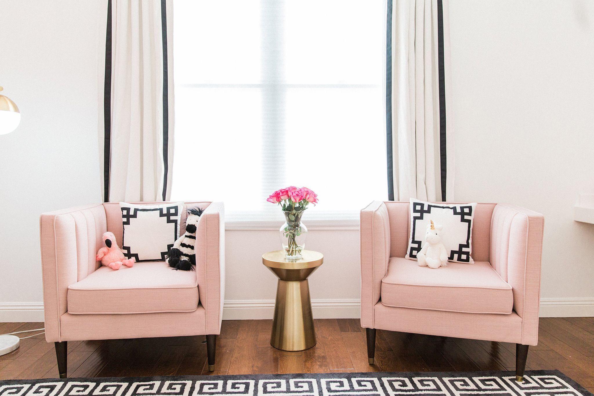 Projekt Kinderzimmer Schwarz, Weiß und Pink Hollywood