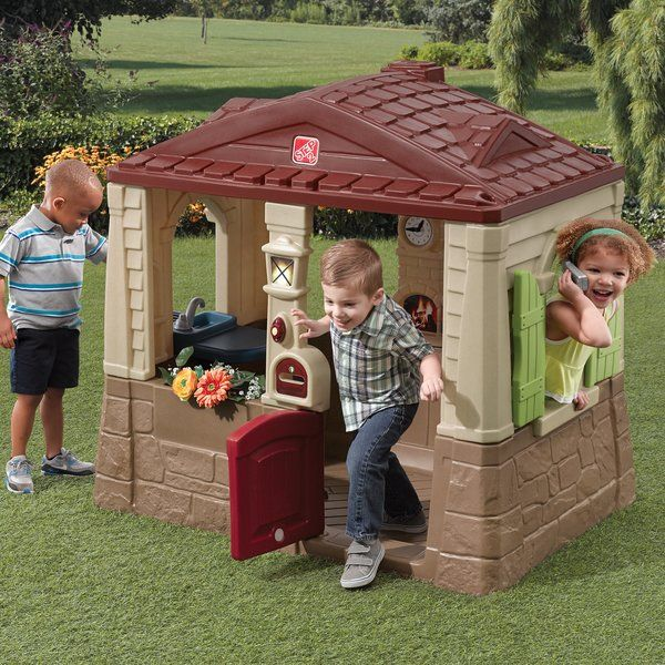 Neat And Tidy Cottage 4 25 X 2 92 Playhouse Play